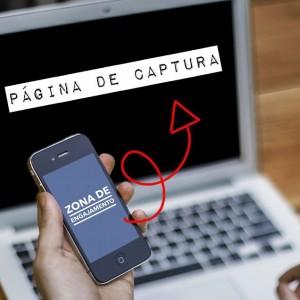 celular página de captura