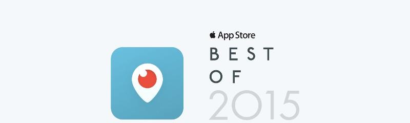 Periscope é eleito o melhor aplicativo do ano pela Apple Store