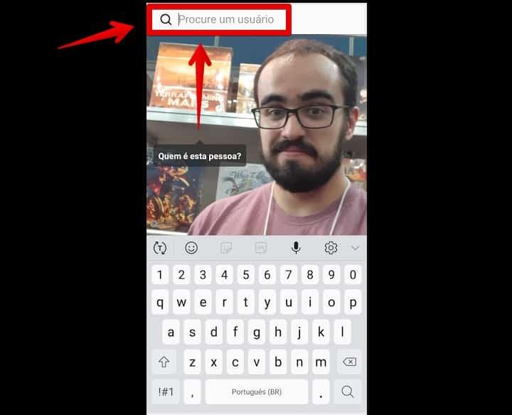 como criar instagram buscarusuario