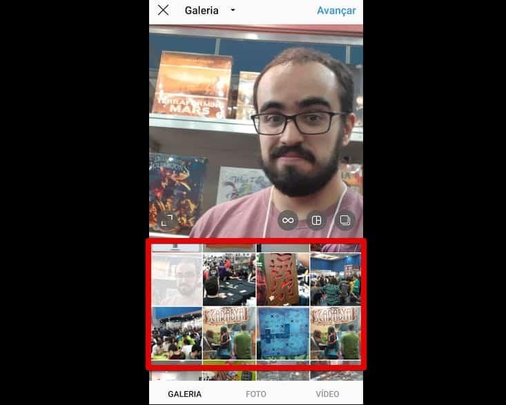 como criar instagram escolhermidia