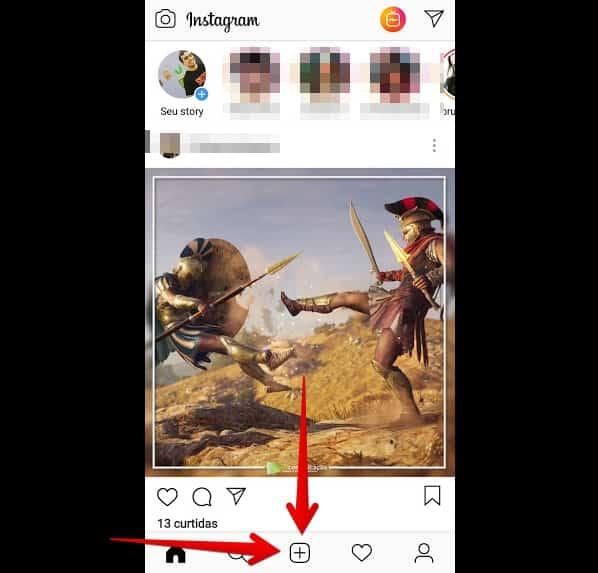 como criar instagram postfeed