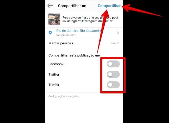 como criar instagram publicarfeed