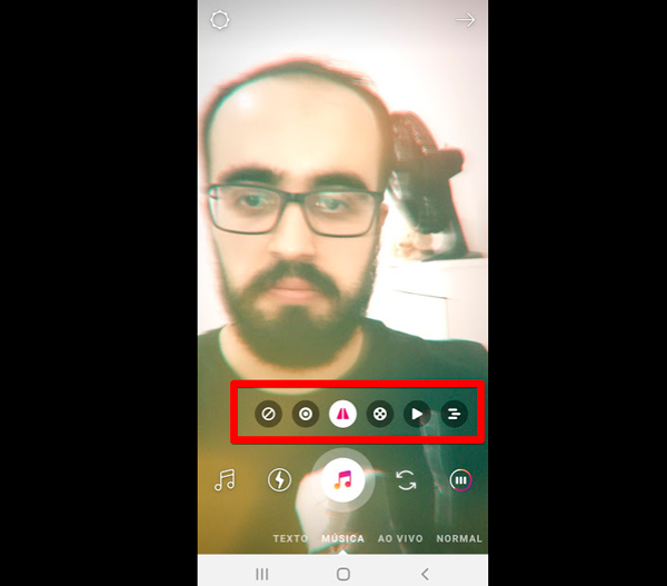 como fazer stories de musica no instagram efeitos