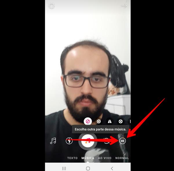 como fazer stories de musica no instagram icone