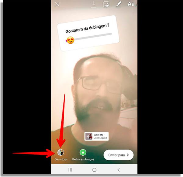 como fazer stories de musica no instagram publicar