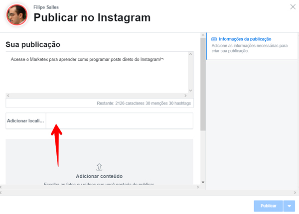 como-programar-posts-direto-do-instagram-local