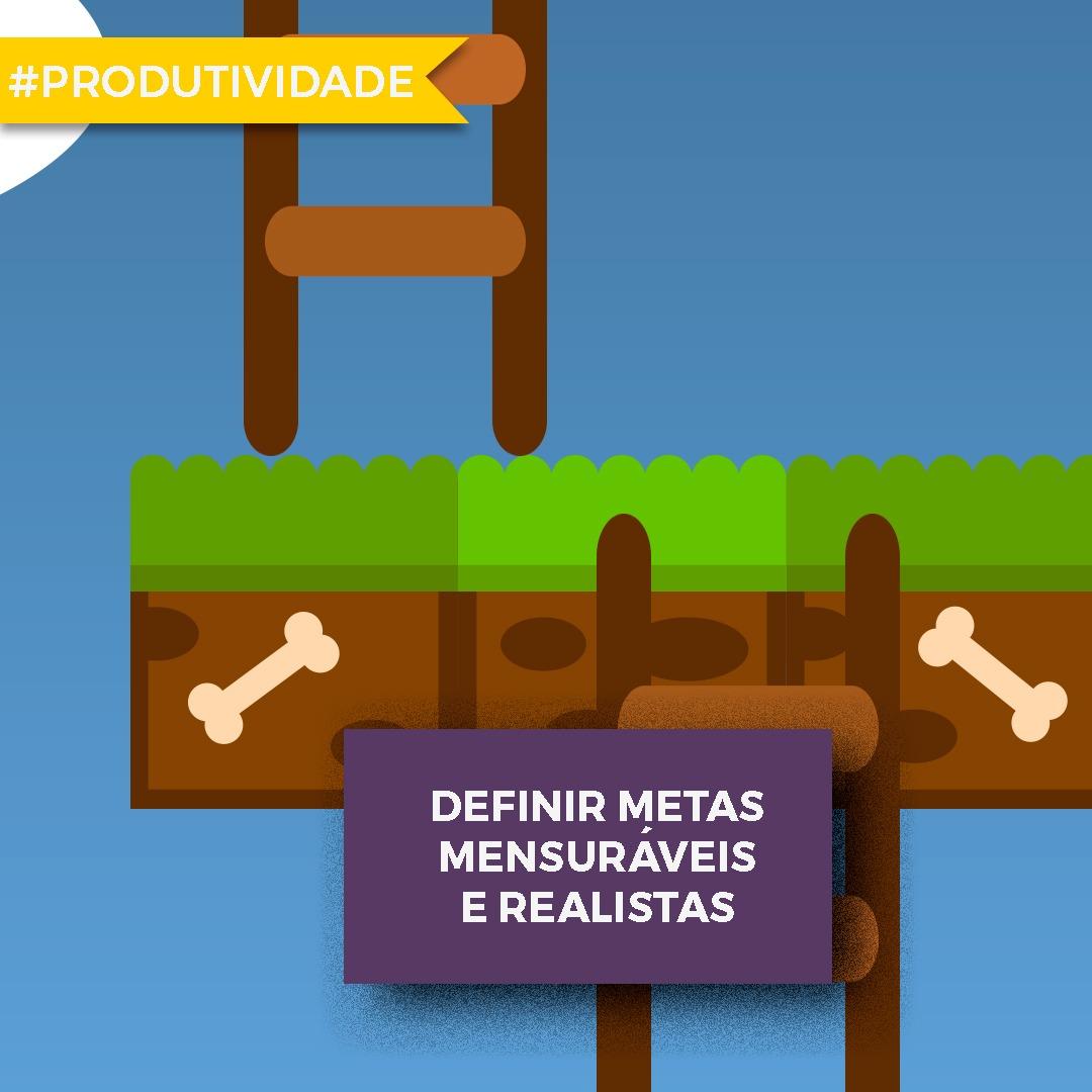 Por que deve aprender a definir metas mensuráveis e realistas